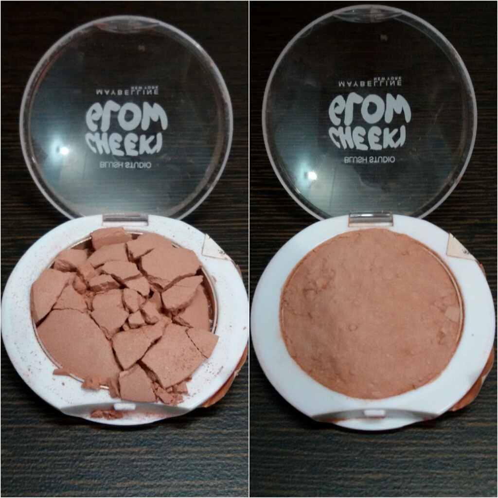 How to fix broken powder makeup with alcohol in four simple steps -  Fix The Broken Blush Img_20150218_181413